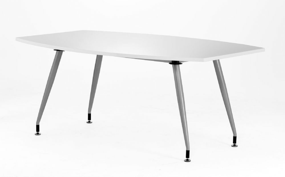 High Gloss  Boardroom Table 1800mm. Available in Black and White